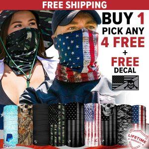 Alpha Defense Gear BUY 1 FACE SHIELD®, GET 4 FREE! - DA-5PACK-FIT5