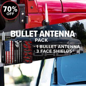 Alpha Defense Gear Bullet Antenna Pack / Build Your Pack - DA-P88192-FB5-1
