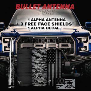 Alpha Defense Gear Bullet Antenna Pack - DA-P88193-FBORG5