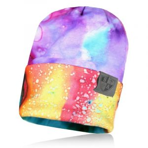 Alpha Defense Gear Performance Beanie / Watercolor / Polyester/Cotton