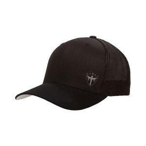 Alpha Defense Gear Snap Back Hat / All Black