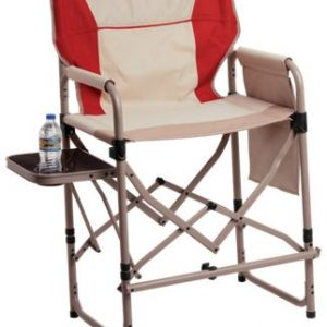Bass Pro Shops Eclipse Magnum Director Chair with Side Table - Bossa Nova Red