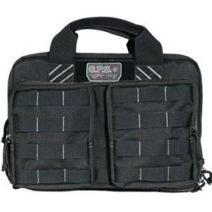 G Outdoors Tactical Quad Pistol Range Bag - Black
