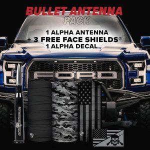 Alpha Defense Gear Bullet Antenna Pack