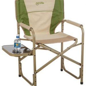 Bass Pro Shops Eclipse Director's Chair with Side Table - Bronze/Green