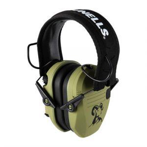 Brownells 3.0 Premium Electronic Ear Muffs - 3.0 Premium Electronic Ear Muffs Green