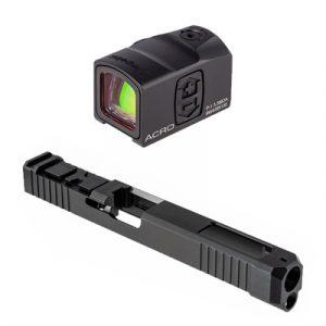 Brownells Acro Cut Slide For Glock 34 Gen 3 - Slide With Aimpoint Acro For Glock 34 Gen 3