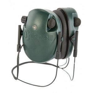Caldwell Shooting Supplies E-Max Low Profile Electronic Behind The Neck Hearing Protection - E-Max Behind The Neck Electronic Hearing Protection