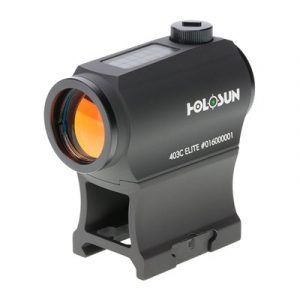 Holosun Hs403c Solar Red Dot Micro Sight - He403c-Gr Elite Green Dot With Solar Panel