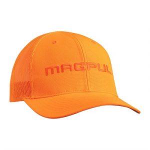 Magpul Wordmark Trucker Hat - Wordmark Trucker Hat Blaze Orange