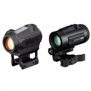 Vortex Optics Sparc Solar Red Dot Sight W/ Micro 3x Magnifier