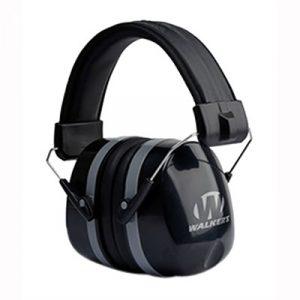 Walkers Game Ear Premium Passive Folding Muff - Premium Passive Folding Ear Muff