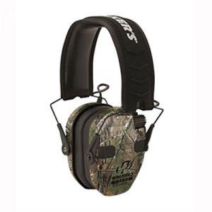 Walkers Game Ear Razor Slim Electronic Quad Ear Muffs - Razor Slim Electronic Quad Ear Muff Realtree Xtra