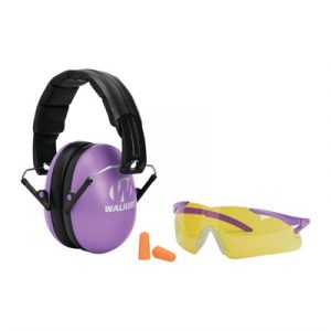 Walkers Game Ear Youth And Women's Passive Combo Kit - Youth & Women's Passive Combo Kit-Purple