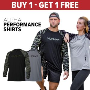 Alpha Defense Gear BUY 1, GET 1 FREE TACTICAL PERFORMANCE SHIRTS