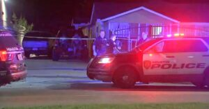 Woman Shoots Through Wall At Man Looking Into Her Bedroom Window