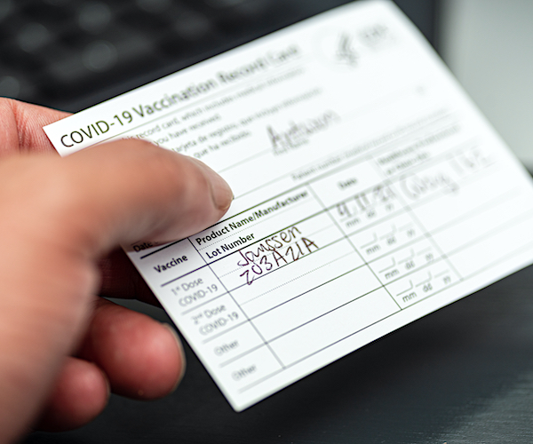 Michigan Nurse Arrested for Selling Fake COVID-19 Vaccine Cards